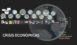 Copy of CRISIS ECONÓMICAS