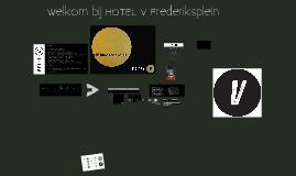 presentatie HOTEL V-remke