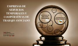 EMPRESAS DE SERVICIOS TEMPORALES