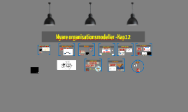 Nyare organisationsmodeller - Kap 12 2018