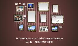 De kracht van non-verbale communicatie