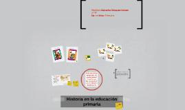 Historia en la educación primaria