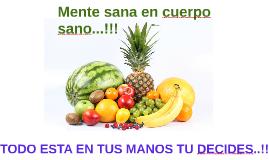 Mente sana en cuerpo sano