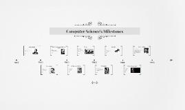 Computer Science's Milestones