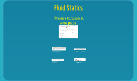 Tutorial 3 - Che 2019 - Pressure in a static fluid