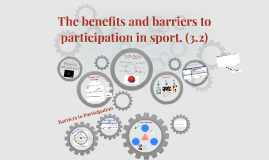 The benefits and barriers to participation in sport. (3.2)
