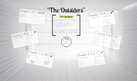The Outsiders Various Chapter Discussion Ideas
