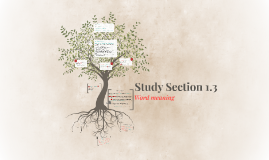 Study Section 1.3