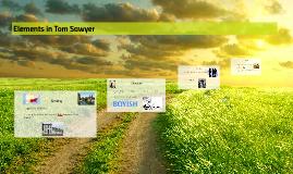 Elements in Tom Sawyer