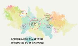 Aproximacion del territorio de el Salvador