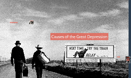 Causes of the Great Depression