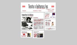 Texto x leitoras/es