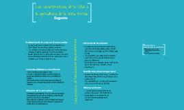 Las características de la Silva a la agricultura de la zona tórrida de Andrés Bello