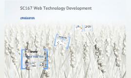 SC167 Web Technology Development