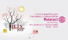 Capacitación Prisidencia Rotaract 4400