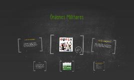 Órdenes Militares