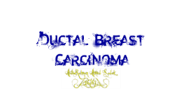 Final Ductal Breast Carcinoma(616)