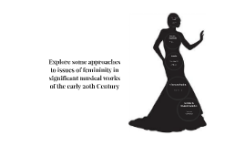 Explore some approaches to issues of femininity