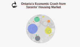 Ontario's Economic Crash from Toronto' Housing Market