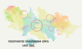 freshwater vactioning spots: lake erie.