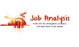 Copy of Job Analysis