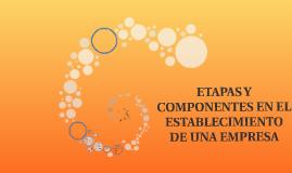 Copy of ETAPAS Y COMPONENTES EN EL ESTABLECIMIENTO DE UNA EMPRESA