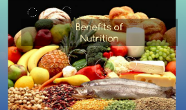 Benefits of Nutrition
