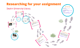 Researching for your assignment-pre workshop material