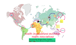 Health Organizations and Public Health Associations