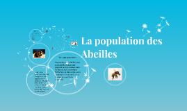 Copy of La population des abeilles
