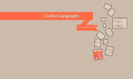 Courious Languages