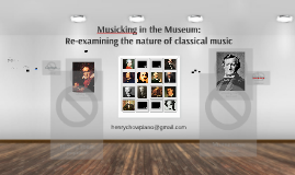 Musicking in the Museum