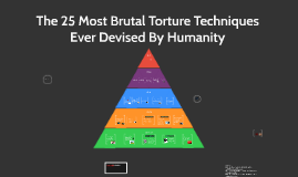 The 25 Most Brutal Torture Techniques Ever Devised By Humanity