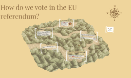 How do we vote in the EU referendum?