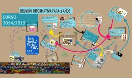Copy of REUNIÓN INFORMATIVA PARA FAMILIARES DEL ALUMNADO DE 3 AÑOS CURSO 13-14