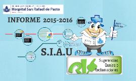 INFORME DE P.Q.R.S.F. 2015