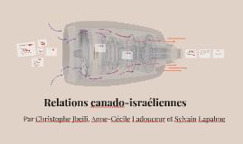 Relation canado-israélienne