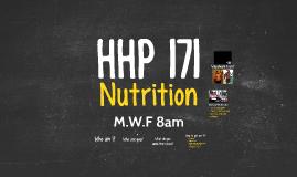HHP 171 intro