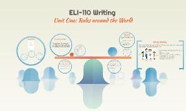 Copy of ِELI-110 Writing