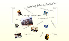 Making Schools Inclusive