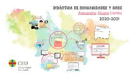 DIDÁCTICA DE HUMANIDADES Y CCSS