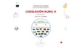 Clase presentación Legislación Rural II - 2017