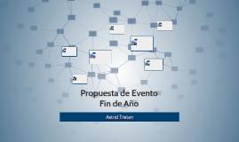 propuesta de evento
