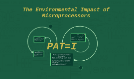 The Environmental Impact of Microprocessors