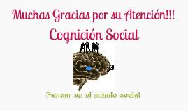 Psicologia Social, Cognición social