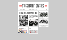 STOCK MARKET CRASHES!