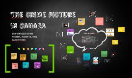 Copy of Crime in Canada