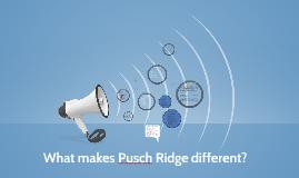 Pusch Ridge Orientation Prezi