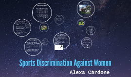 discrimination in women's sports This report begins with seven real-life discrimination scenarios that set the  in  particular, many girls and women shy away from sport out of fear they will be.