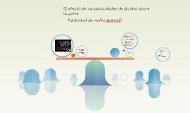 El efecto de las publicidades de alcohol sobre la gente